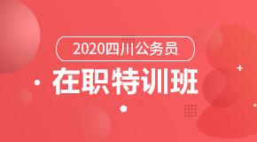 (笔试)2020四川公务员·在职特训班