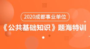 (笔试)2020成都事业单位《公共基础知识》题海特训