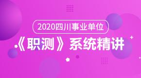 (笔试)2020年四川《职测》系统精讲