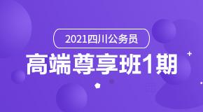 2021四川公务员·高端尊享班1期