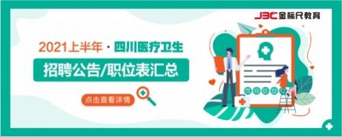 2021上半年四川医疗卫生招聘信息汇总